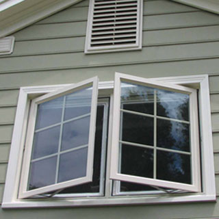 Storm Shield Casement Window