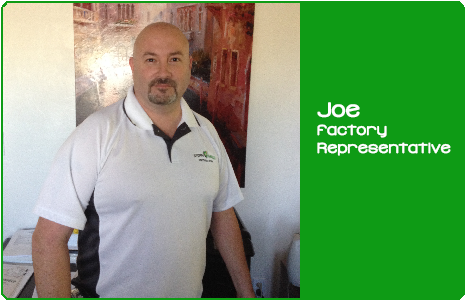 Joe - Factory Representative
