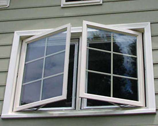 Awning Casement Windows : Casement awning window storm shield